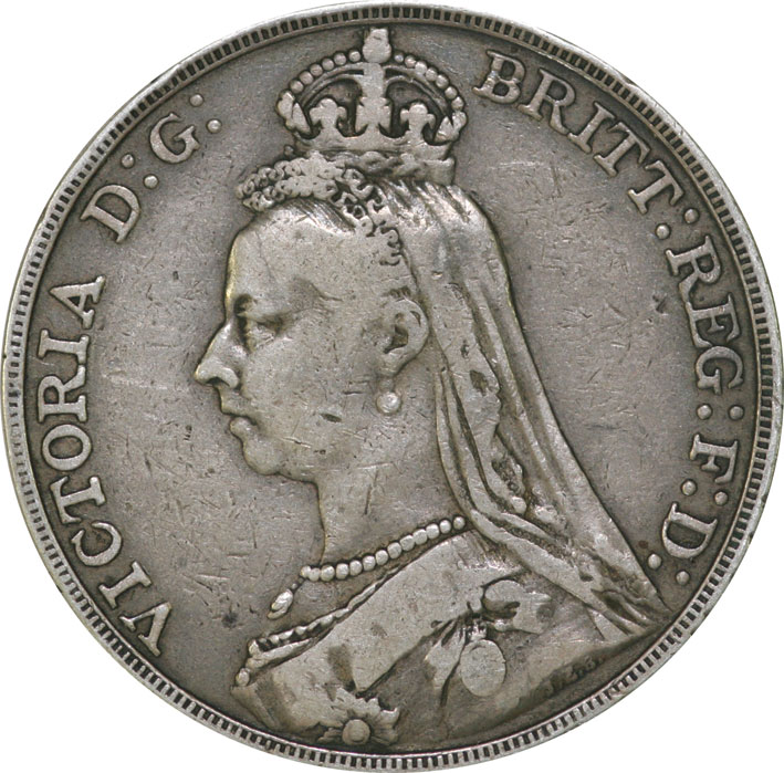 Victoria Jubilee Head Silver Crown