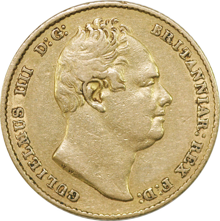 William IV Gold Sovereign