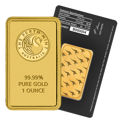 Perth Mint 1 Oz Gold Bar Gold Bullion Co
