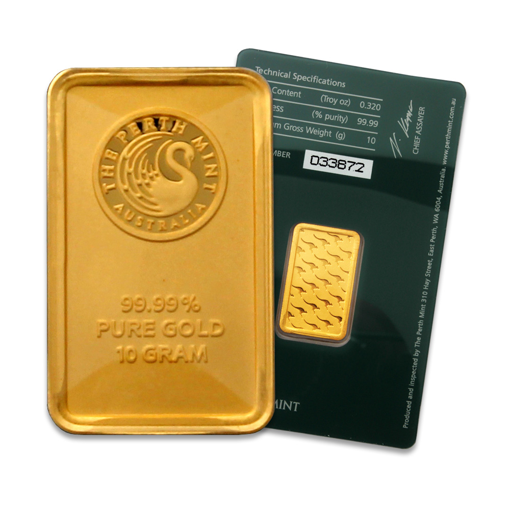 Perth Mint 10 Gram Gold Bar Buy Perth Mint 10 Gram Gold Bars