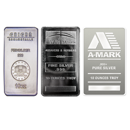 10oz Silver Bar - Investment Market