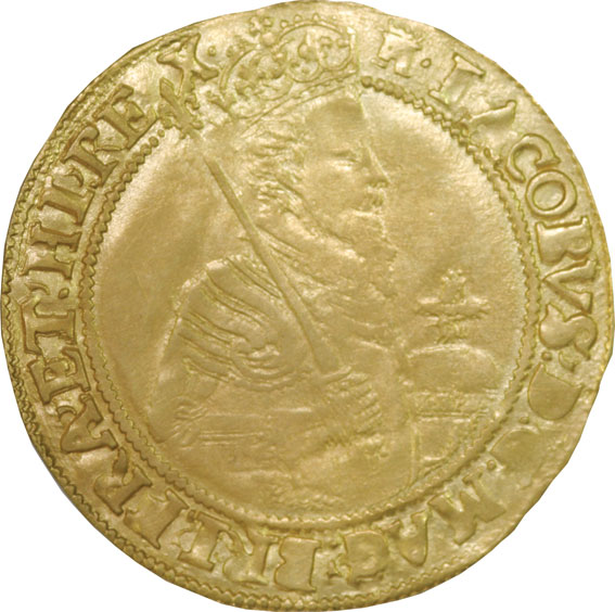 James I Gold Unite with Tower Mintmark