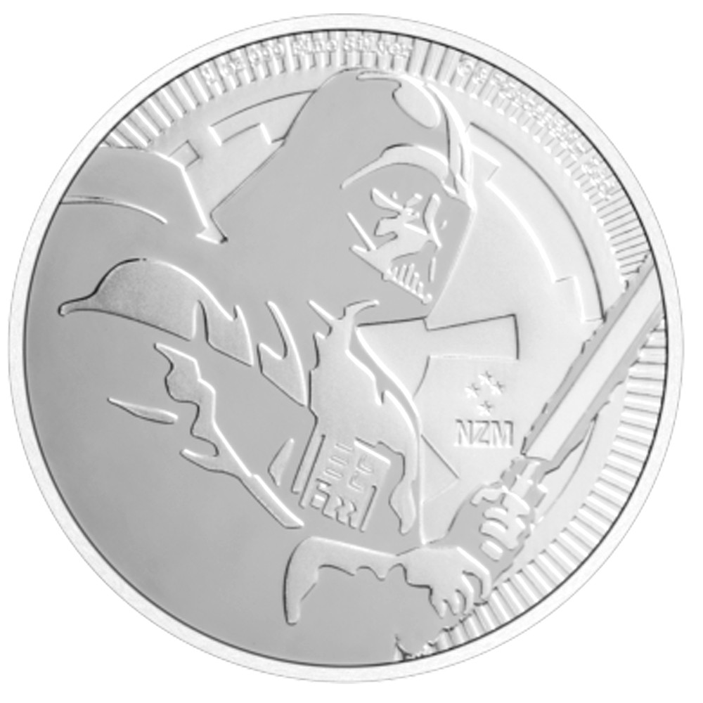 2020 1oz STAR WARS Darth Vader Silver Coin
