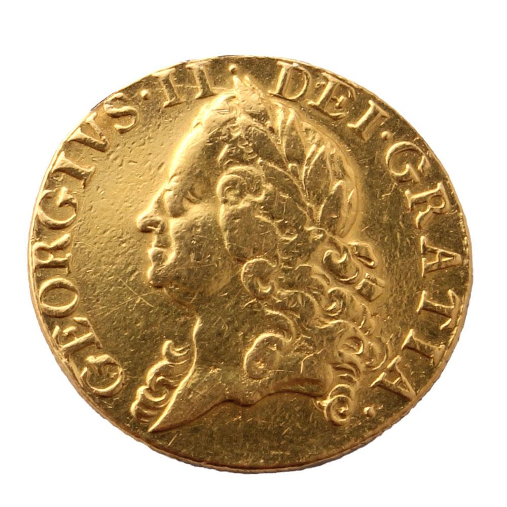 1749 Guinea Rare Coins For Coin Collectors