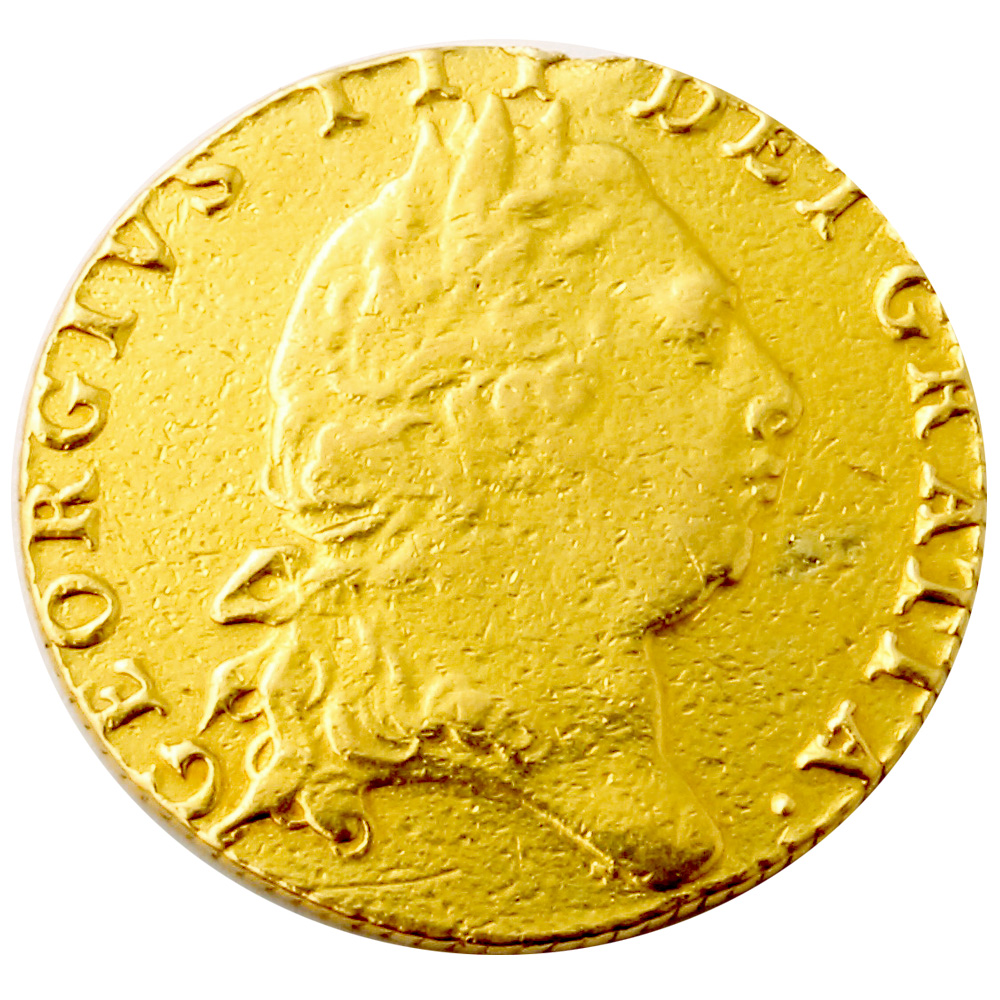 1798 George III Gold Guinea Coin