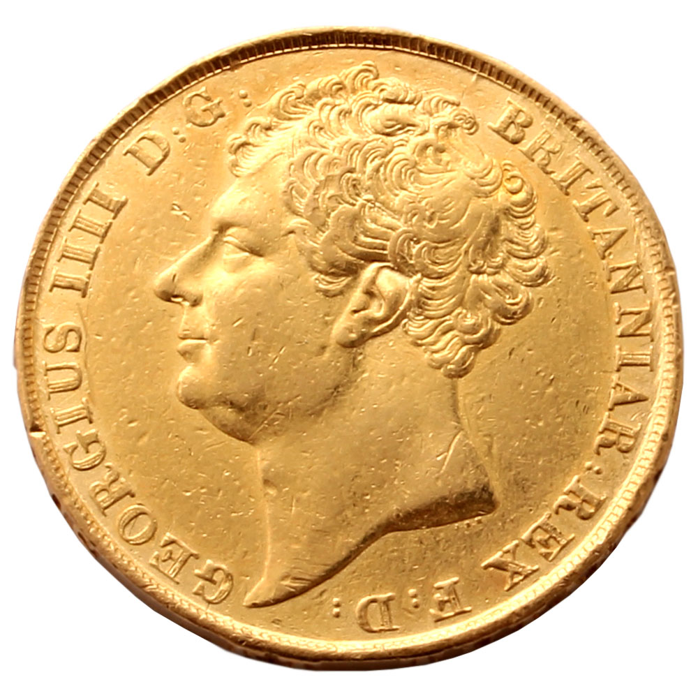1823 Two Pound Gold Coin Rare Coin For Coin Collectors
