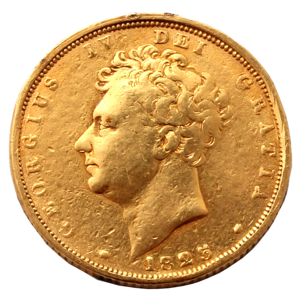 1825 Sovereign Rare Coins For Coin Collectors