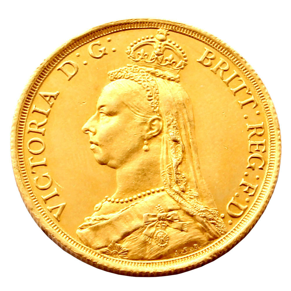 Fine 1887 Sovereign