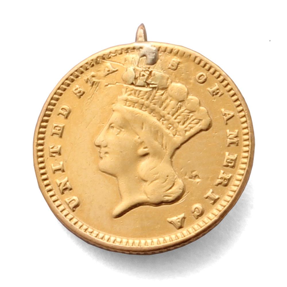 1888 Us 1 Gold Coin Rare Coin For Coin Collectors