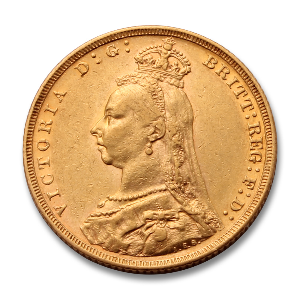 1889 Gold Sovereign (Victoria Jubilee Head)
