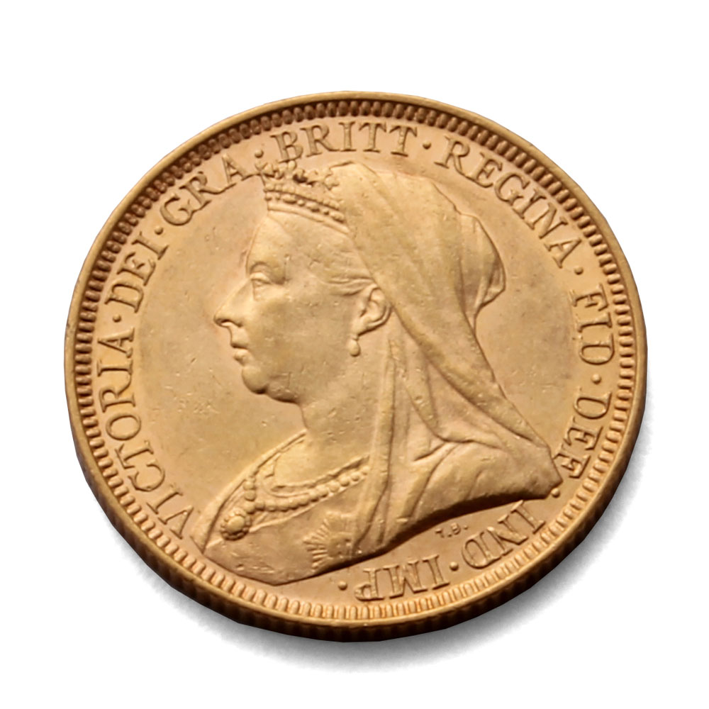 1894 Gold Sovereign Coin Rare Coin For Coin Collectors
