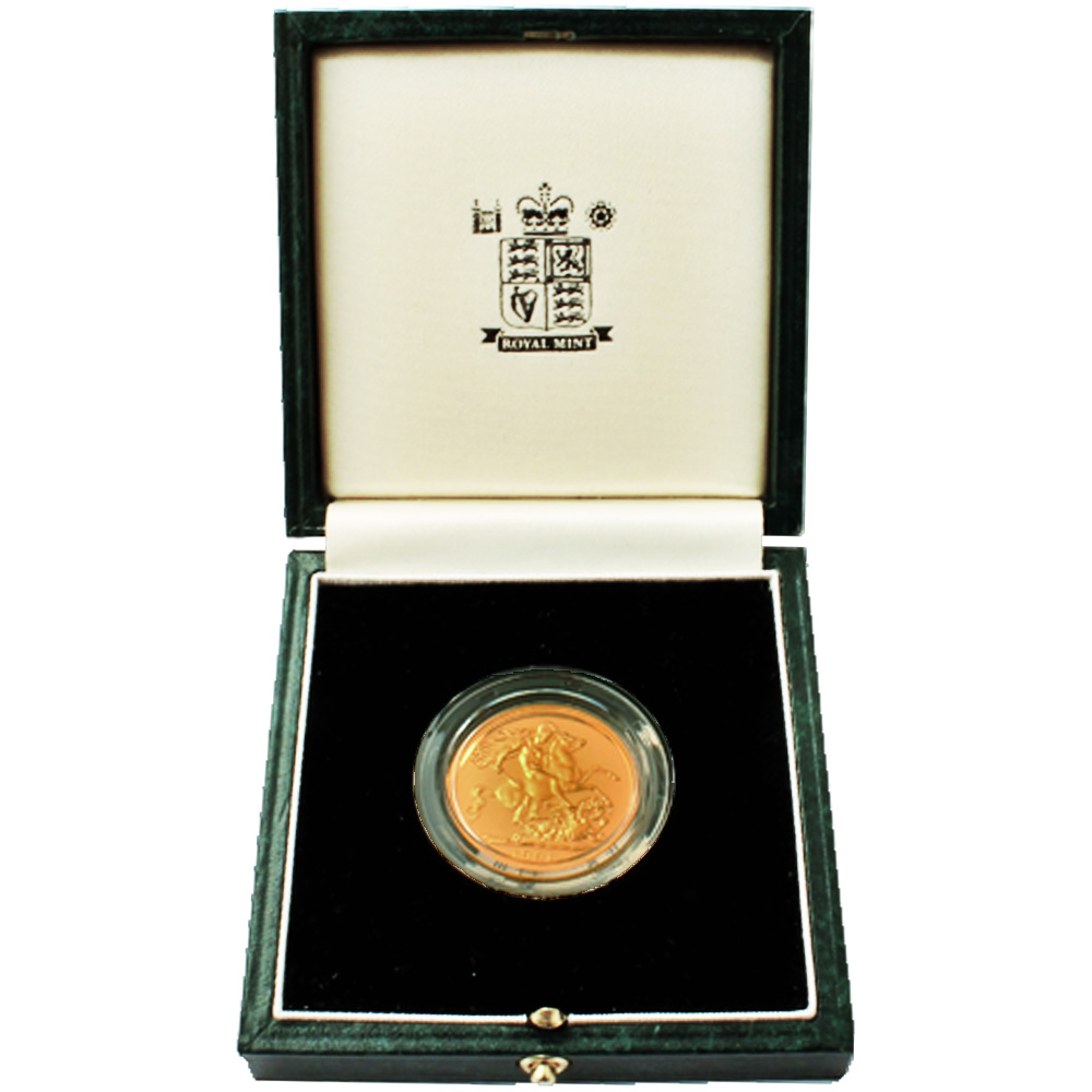 1991 Proof Double Sovereign