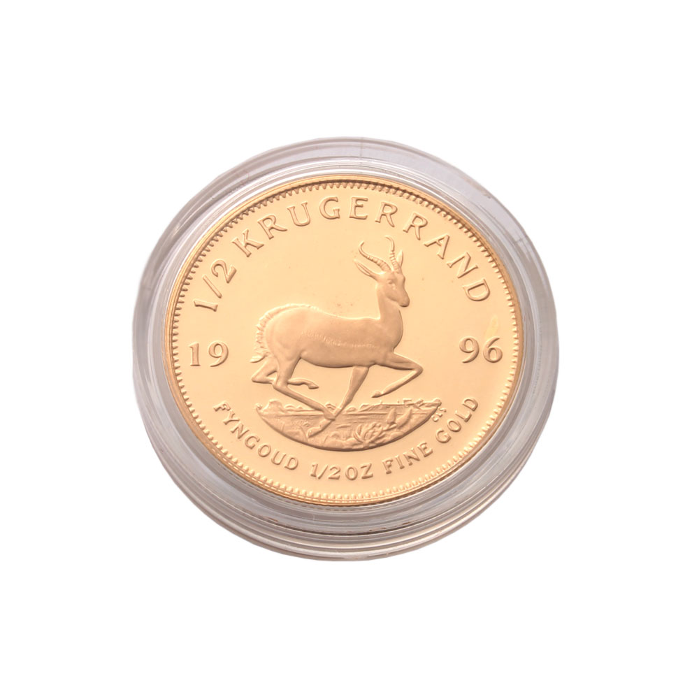 1/2 Ounce Proof Krugerrand Gold Coin