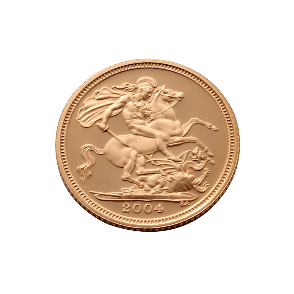 2004 Proof Half Sovereign