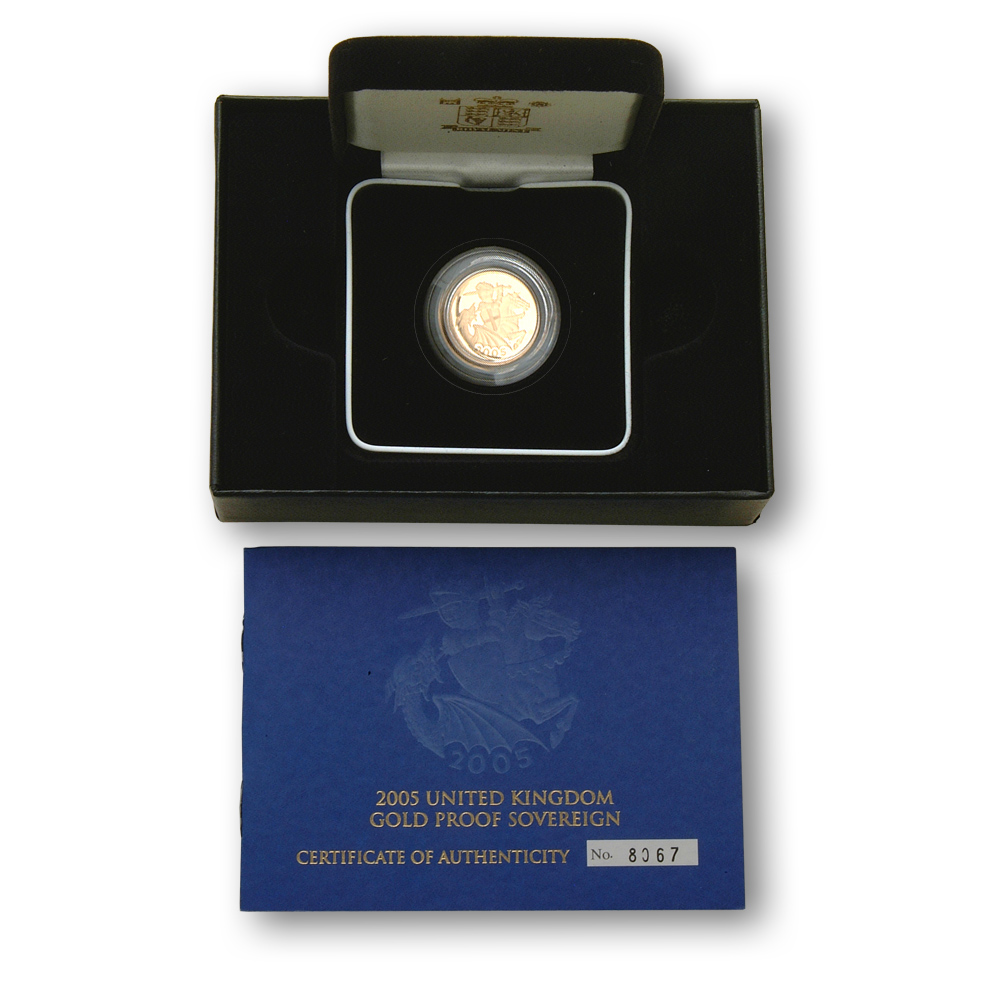 2005 Gold Proof Sovereign