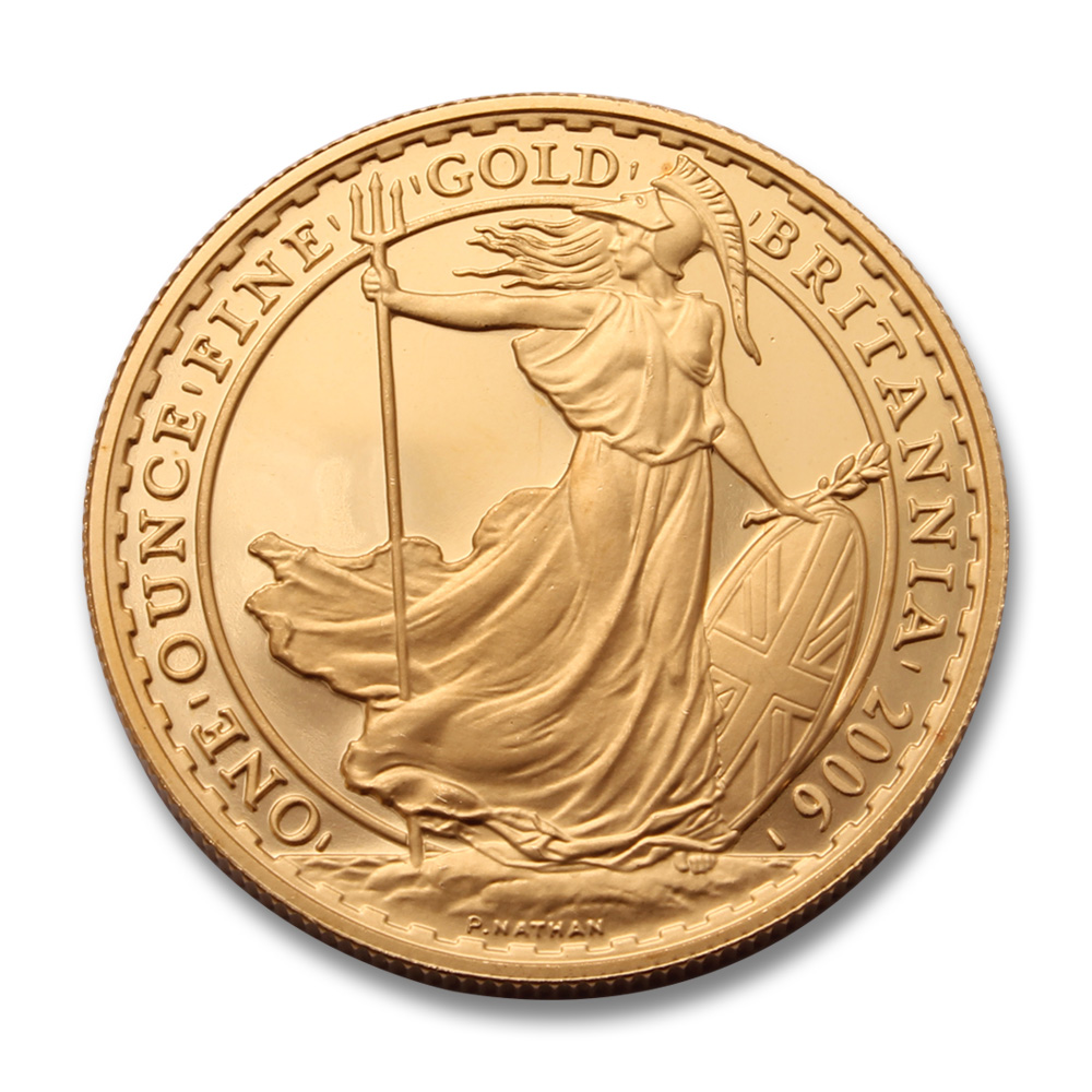 2006 Proof 1/4oz Gold Britannia Coin