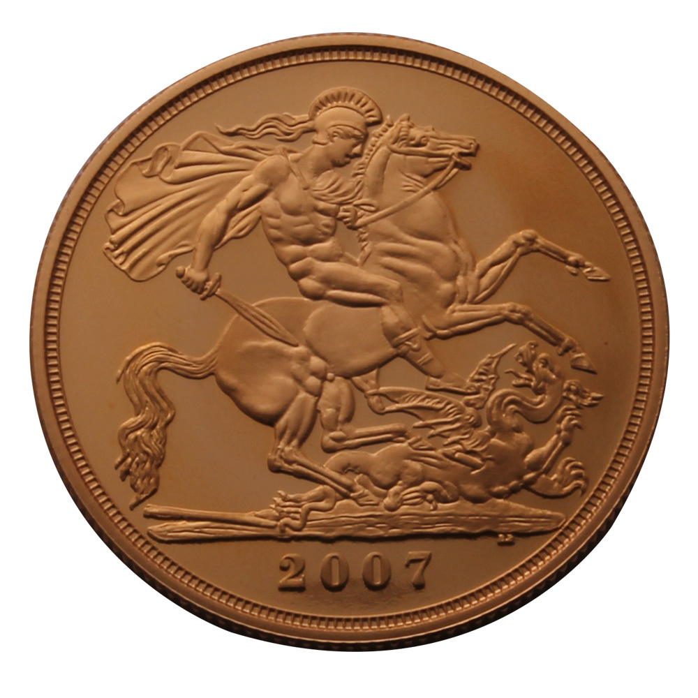 2007 £2 Proof Gold Coin
