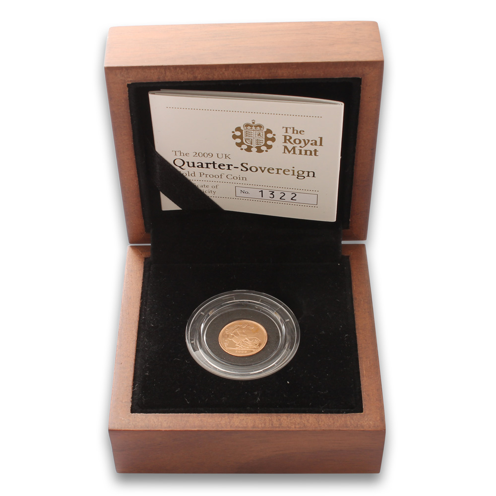 2009 Quarter Sovereign Gold Proof Coin
