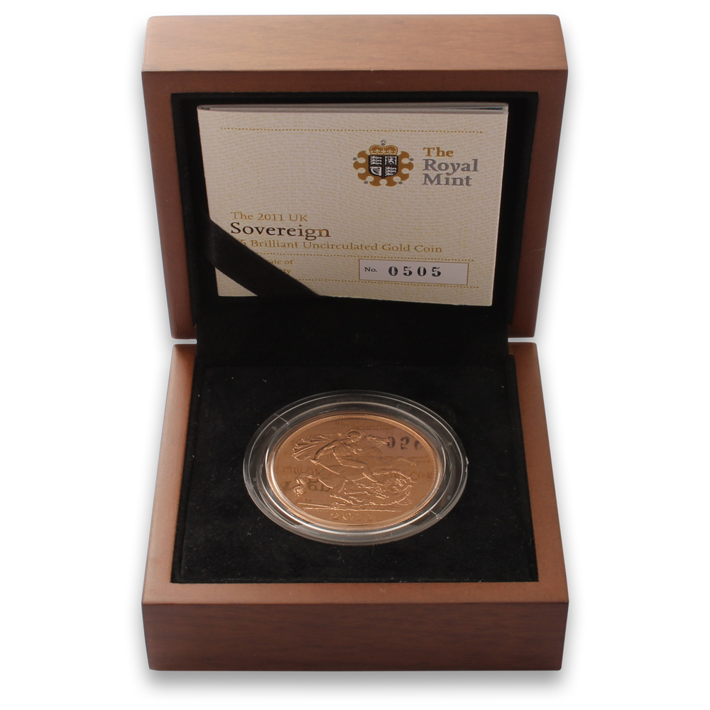 2011 Five Pound Gold Coin (Brilliant Uncirculated)