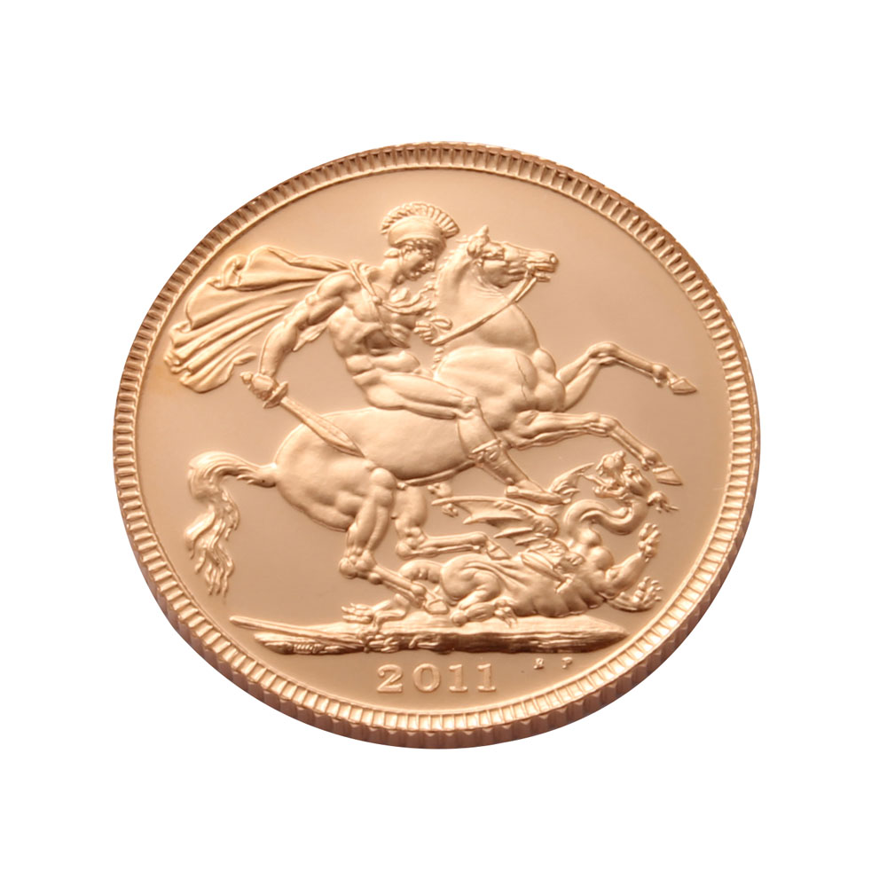 2011 Proof Gold Sovereign
