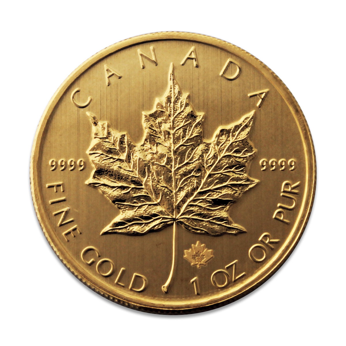 2013 1oz Gold Maple Leaf Coin 24 Carat Canadian Gold Coins