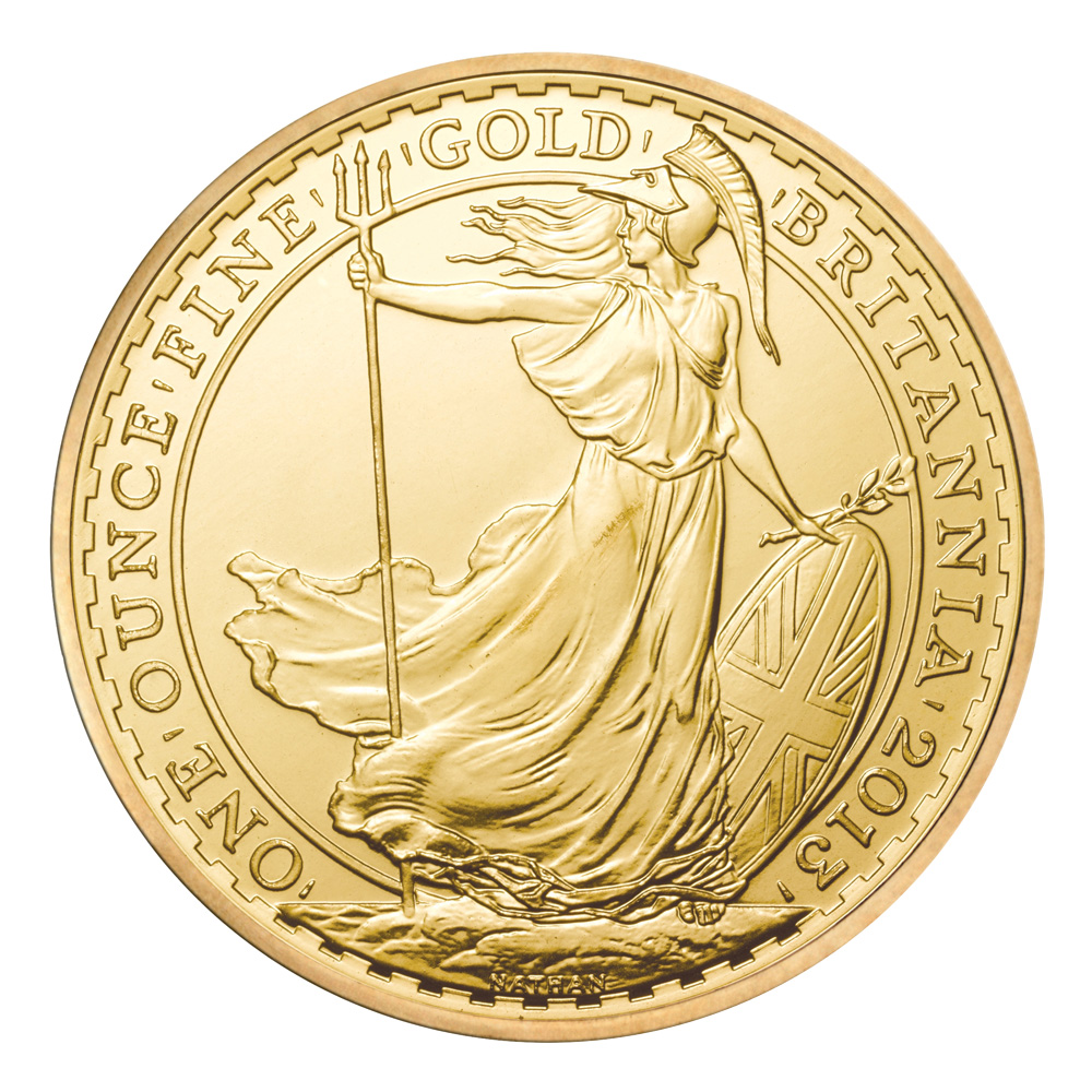 2013 1oz Gold Britannia Coin Gold Bullion Co