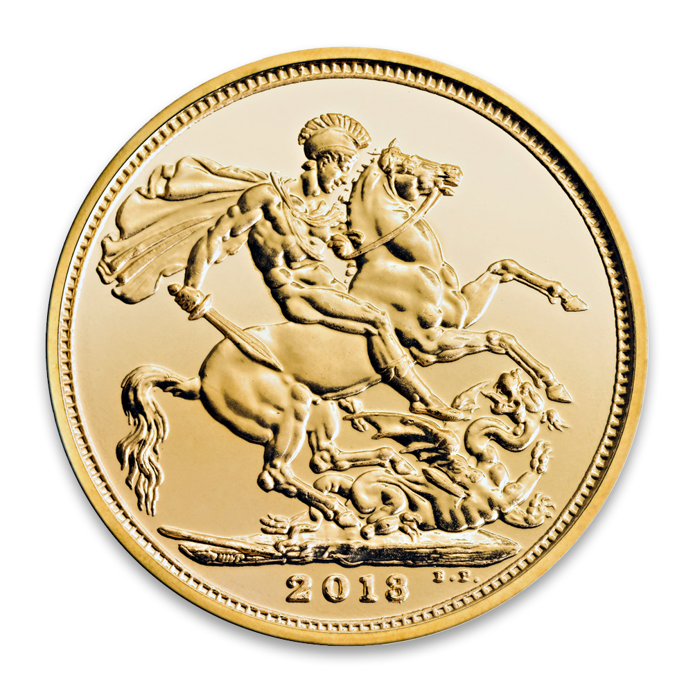 2013 Gold Sovereign Royal Mint 2013 Sovereign Coin