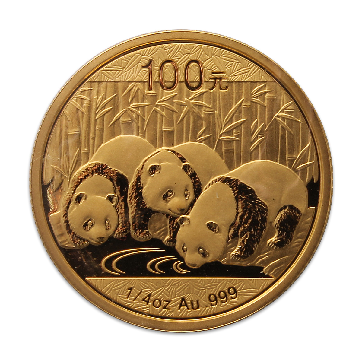 2013 1 4 Oz Chinese Panda Gold Coin