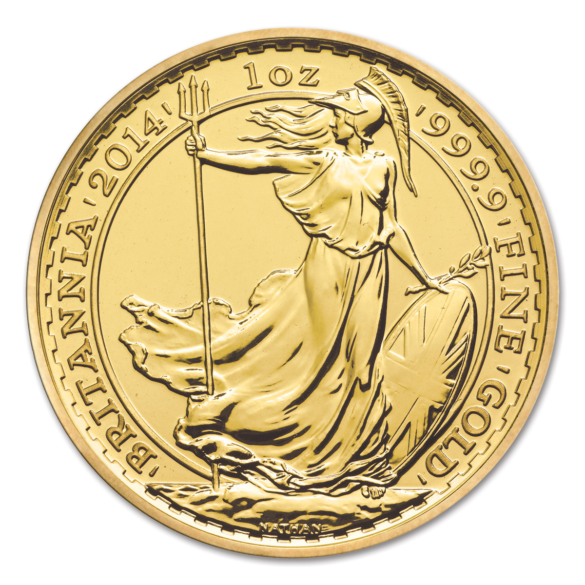 2014 Gold Britannia Royal Mint Gold Bullion Co