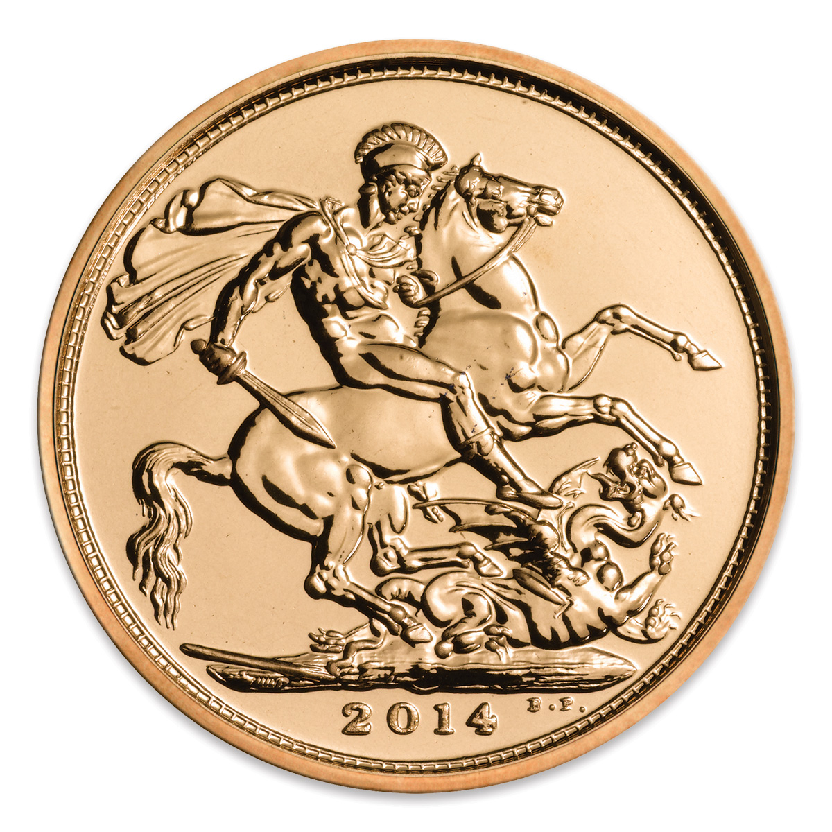 2014 Gold Full Sovereign Coin | The Royal Mint