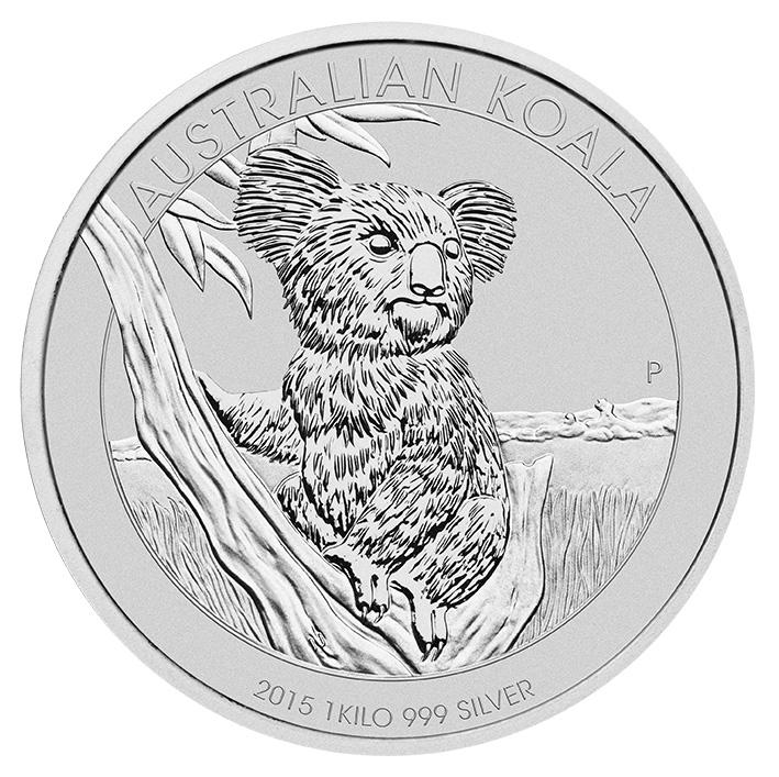 Australian Koala 1 Kilogram Silver Coin 1kg Silver Coins