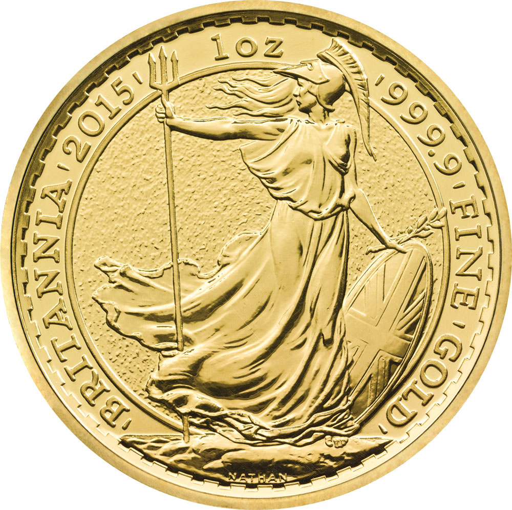 2015 Gold Britannia Royal Mint 2015 Gold Britannia Coins