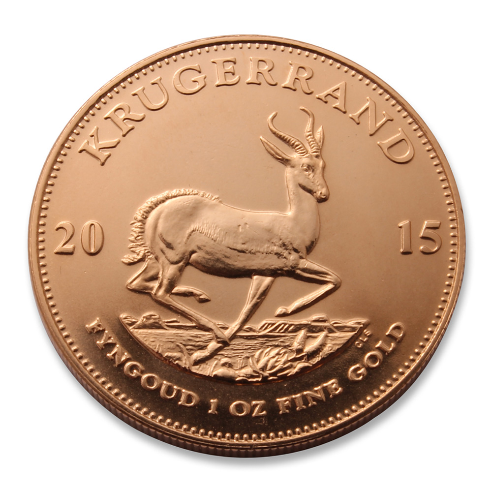 2015 Krugerrand By The Rand Refinery 1oz Of Fine Gold