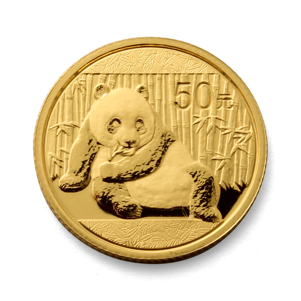 2015 Chinese Panda 1/10th oz Gold Coin