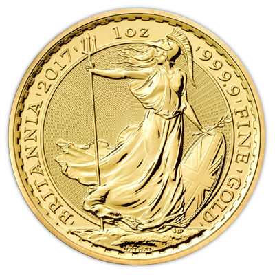Gold Britannia 1oz 2017 Gold Bullion Co