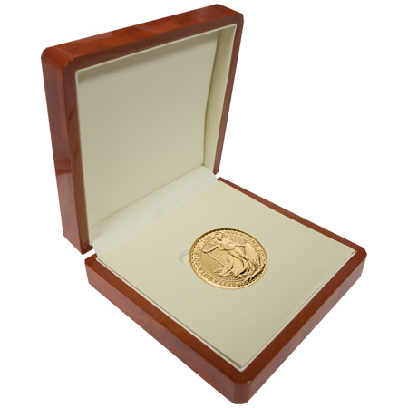 2018 Gold Britannia in Premium Display Box