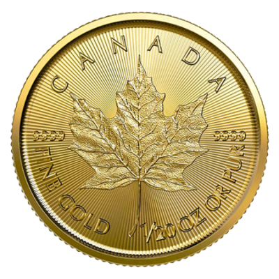 2020 1/20oz Gold Maple Leaf Coins