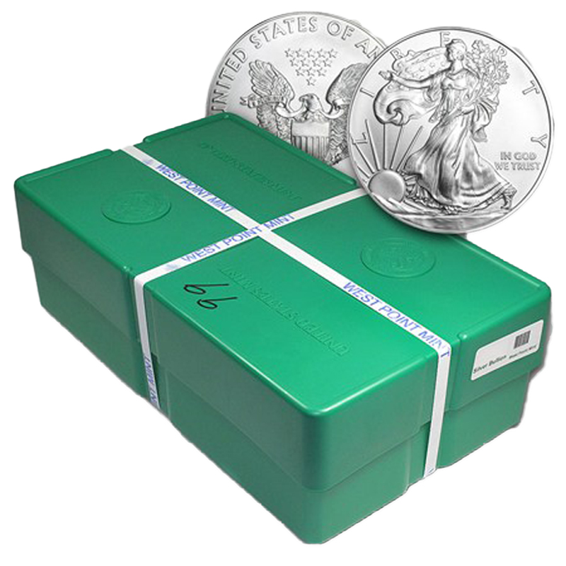 2020 American Silver Eagle Monster Box (500 Coins)
