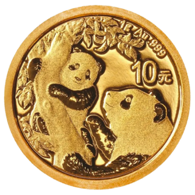 2021 1g Panda Gold Coin | China
