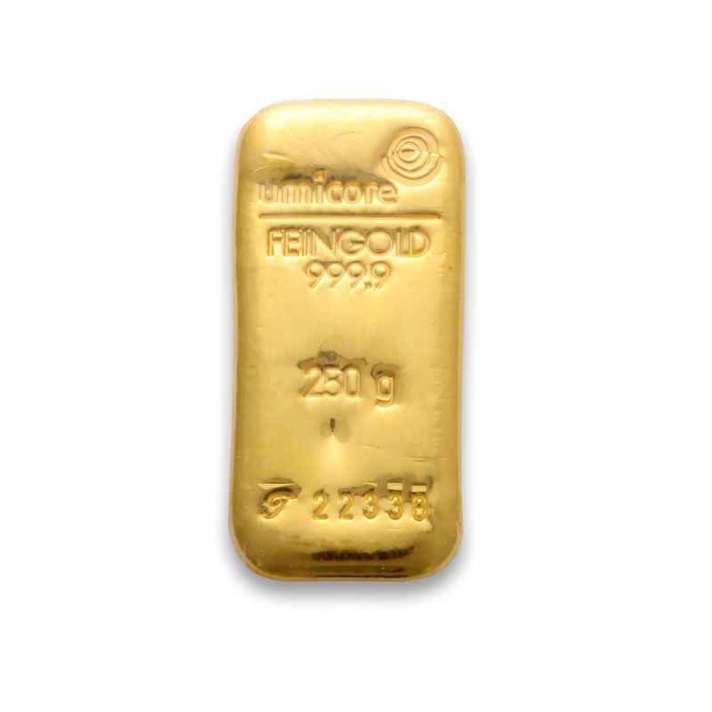 250 Gram Gold Bar Buy 250g Gold Bullion Bars Online