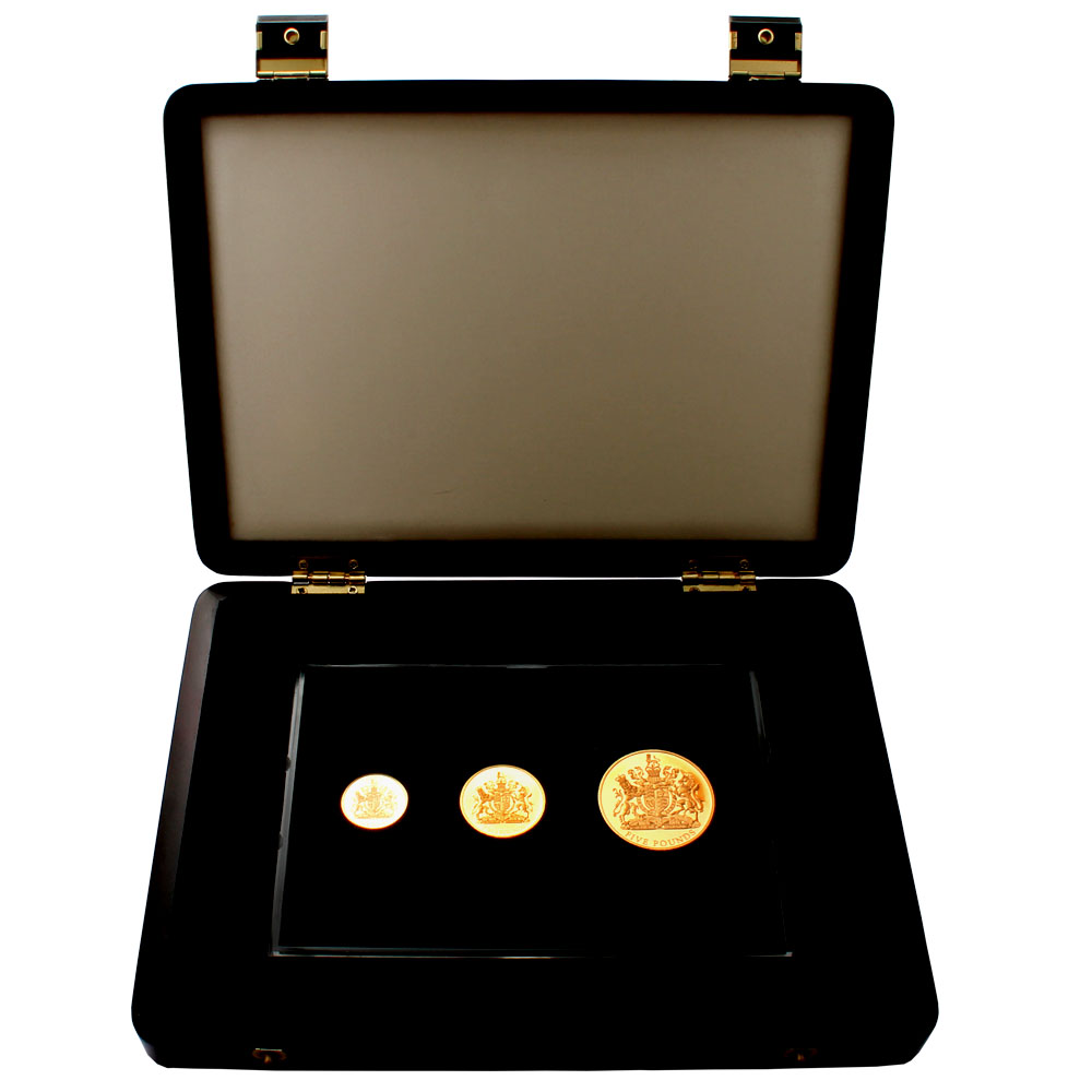 2012 Jersey 22ct Gold Diamond Jubilee Proof Set
