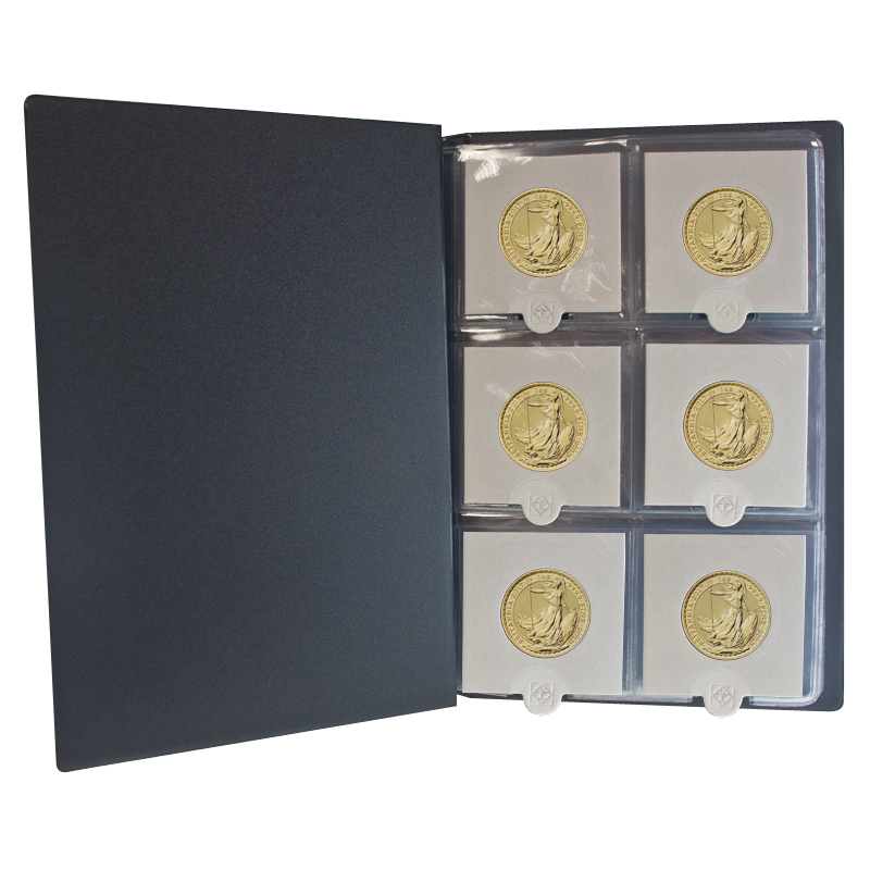 Coin Folder Gold Amp Silver Coin Presentation Folder