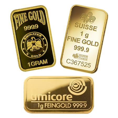 1g Gold Bar | Investment Market