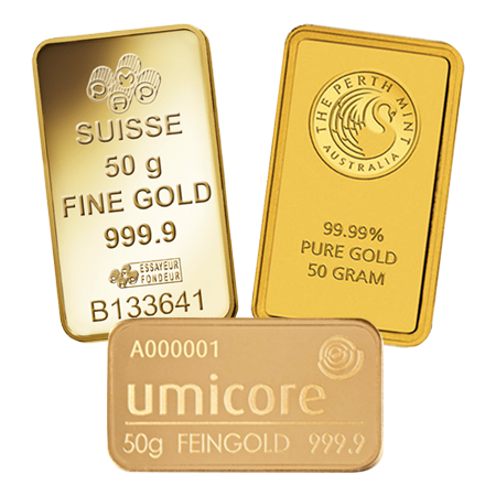 50g Gold Bar - Investment Market