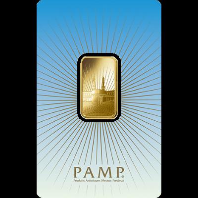 Pamp Faith Ka Bah Mecca 10 Gram Gold Bar Gold Bullion Co