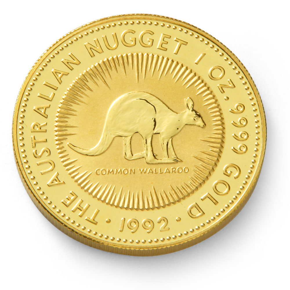 Buy 1oz Australian Nugget Gold Bullion Coin Gold Bullion Co