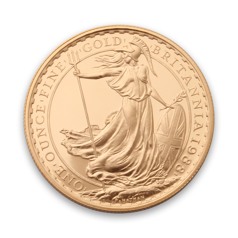 1oz Gold Britannia Coin From The Royal Mint Mixed Years