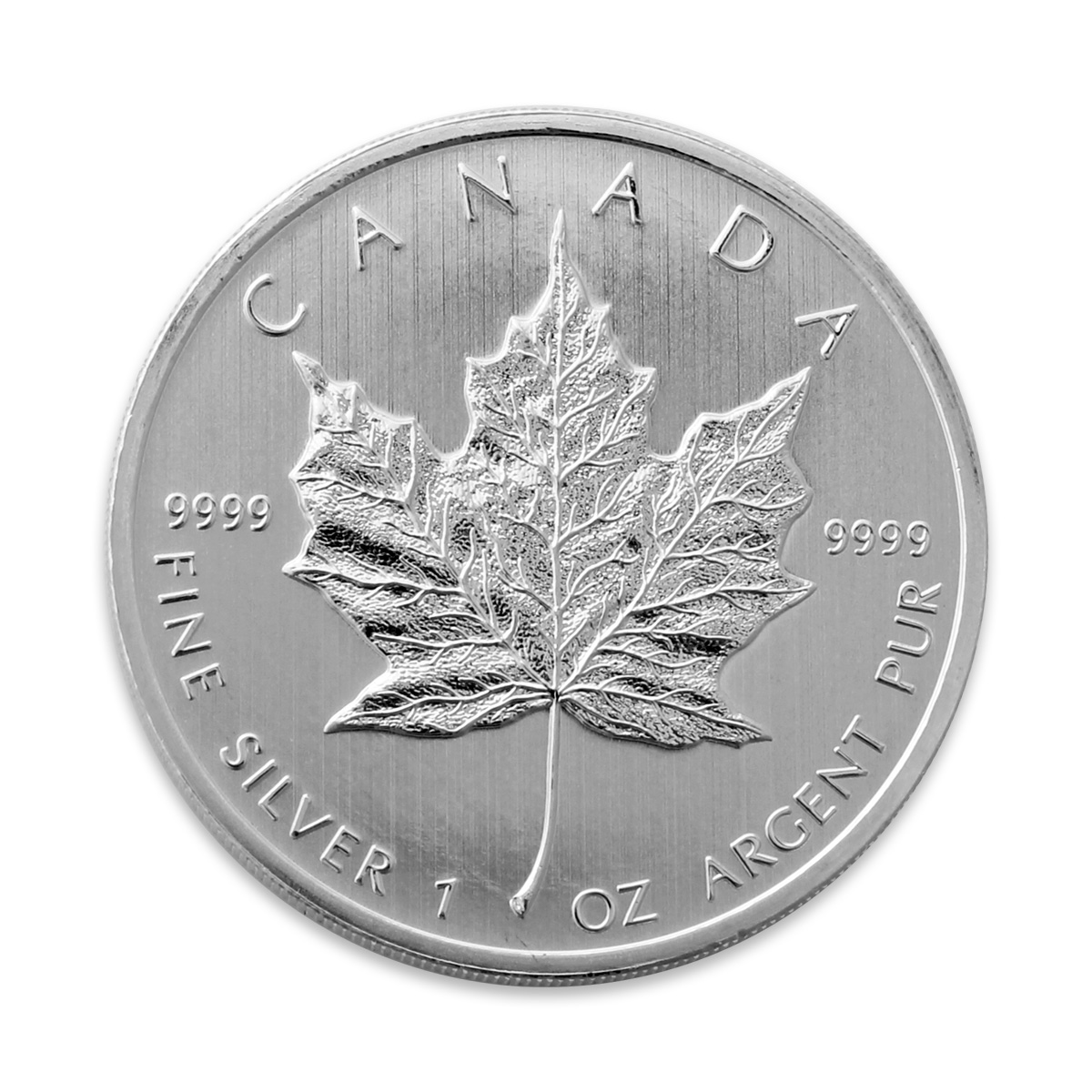 1 Oz Canadian Maple Leaf Silver