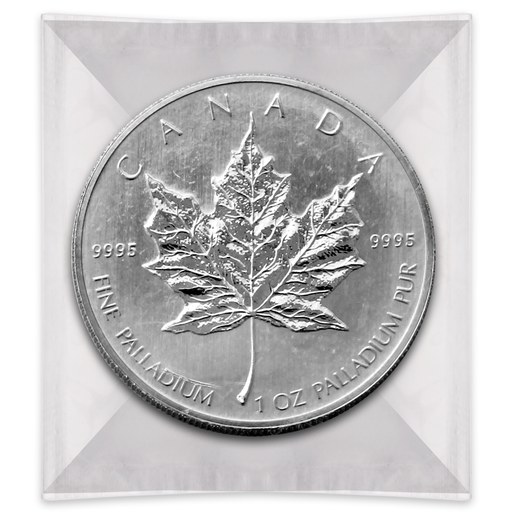 Palladium Canadian Maple Leaf 1 Oz Coin One Ounce