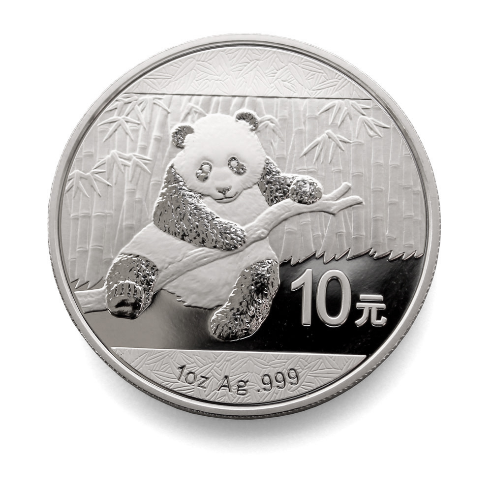 2014 Chinese 1oz Silver Panda Chinese Silver Coins